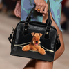 Airedale Terrier Shoulder Handbag V2