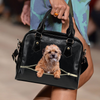 BorderTerrier Shoulder Handbag V2