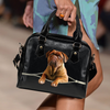Dogue de Bordeaux - French Mastiff Shoulder Handbag V2