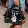 Welsh Corgi Shoulder Handbag V6