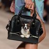 Welsh Corgi  Shoulder Handbag V7