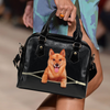Finnish Spitz Shoulder Handbag V1