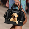 Goldendoodle Shoulder Handbag V3