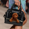Goldendoodle Shoulder Handbag V1
