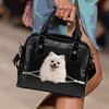 Pomeranian Shoulder Handbag V3