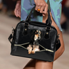 Saluki Shoulder Handbag V1