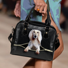 Saluki Shoulder Handbag V2