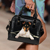 Smooth Collie Shoulder Handbag V1