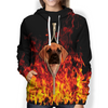 So Hot - Great Dane Hoodie V1