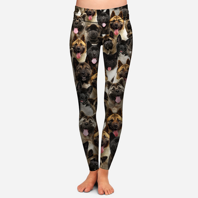 You Will Have A Bunch Of American Akitas - Leggings V1