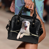 Borzoi Shoulder Handbag V2