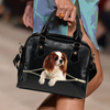 Cavalier King Charles Spaniel Shoulder Handbag V3