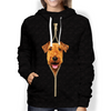 I'm With You - Airedale Terrier  Hoodie V1