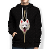 I'm With You - American Eskimo Hoodie V1