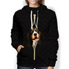 I'm With You - Basset Hound Hoodie V3