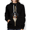 I'm With You - Bernese Mountain Hoodie V1