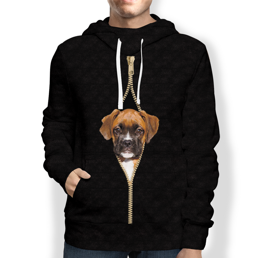 I'm With You - Boxer Hoodie V2