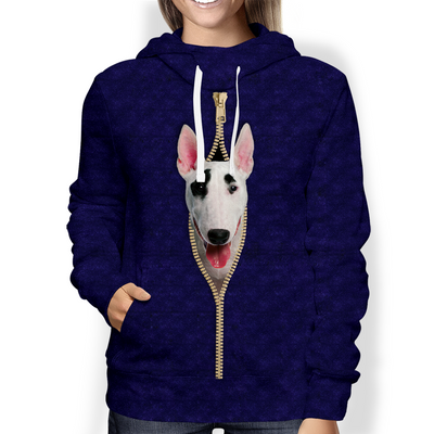 I'm With You - Bull Terrier Hoodie V2