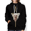 I'm With You - Chinese Crested Hoodie V2