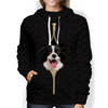 I'm With You - Border Collie Hoodie V2
