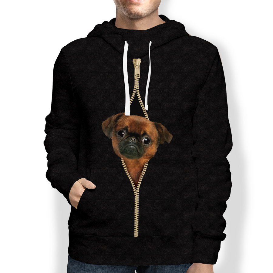 I'm With You - Griffon Bruxellois Hoodie V1