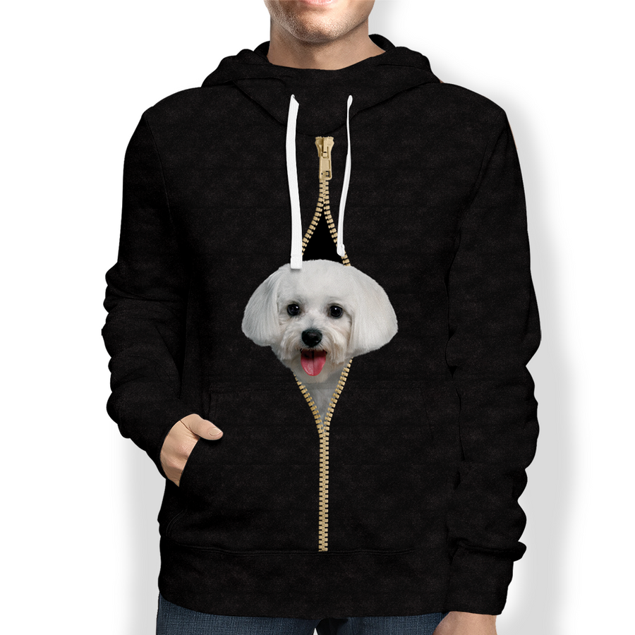 I'm With You - Maltese Hoodie V2