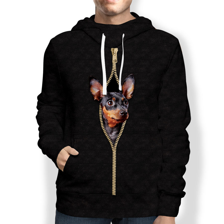 I'm With You - Miniature Pinscher Hoodie V4