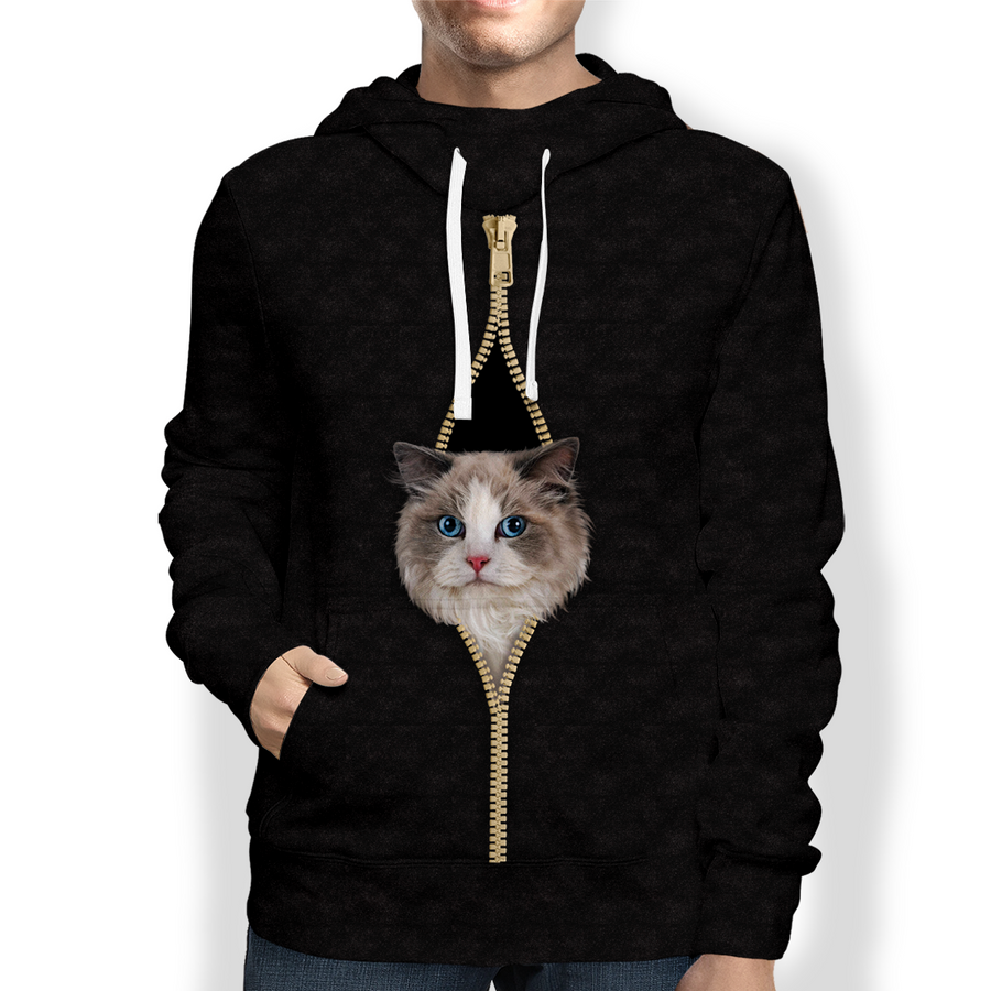 I'm With You - Ragdoll Cat Hoodie V1