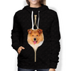 I'm With You - Rough Collie Hoodie V3
