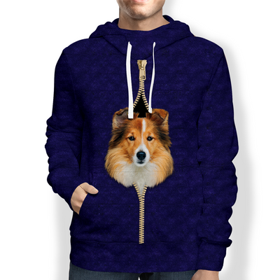 I'm With You - Shetland Sheepdog Hoodie V2