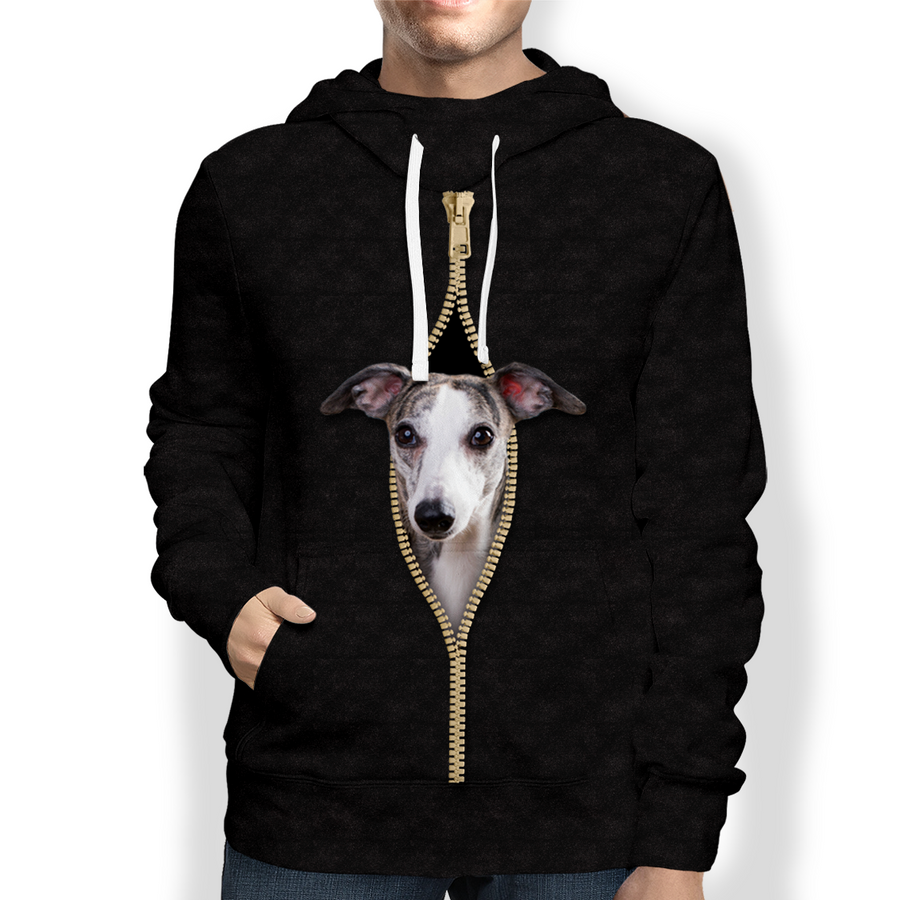 I'm With You - Whippet Hoodie V4