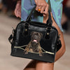 Bullmastiff Shoulder Handbag V4