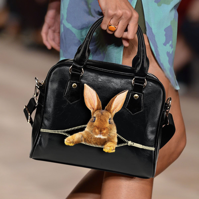 Rex Rabbit Shoulder Handbag V1