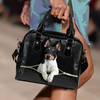 Toy Fox Terrier Shoulder Handbag V1