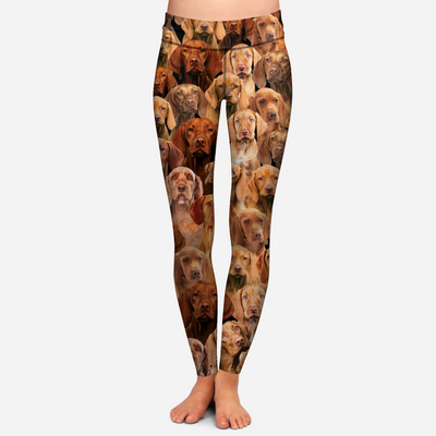 You Will Have A Bunch Of Vizslas - Leggings V1