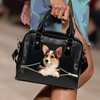 Welsh Corgi Shoulder Handbag V5