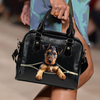 Airedale Terrier Shoulder Handbag V1