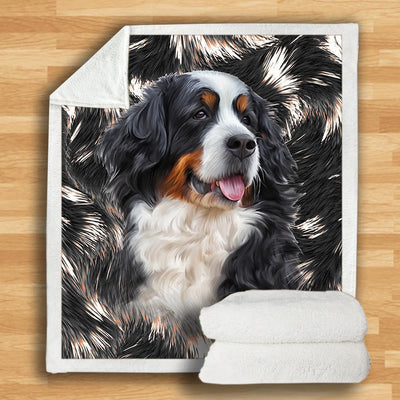 Bernese Mountain Blanket V2