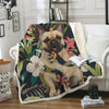 French Bulldog Blanket V4