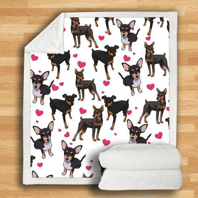 Miniature Pinscher Blanket V2