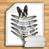 Boston Terrier Blanket V5