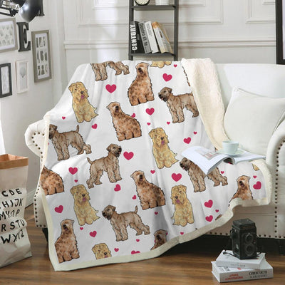 Soft-coated Wheaten Terrier Blanket