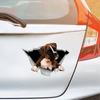 We Like Riding In Cars - Boxer Car Sticker V1
