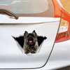 We Like Riding In Cars - Cairn Terrier Car/ Door/ Fridge/ Laptop Sticker V2