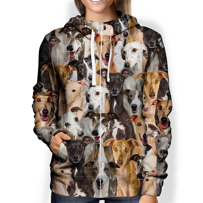 You Will Have A Bunch Of Greyhounds - Hoodie V1