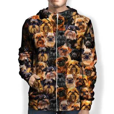You Will Have A Bunch Of Griffon Bruxellois - Hoodie V1