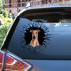 Get In - It's Time For Shopping - Greyhound Car/ Door/ Fridge/ Laptop Sticker V2