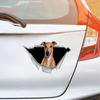 We Like Riding In Cars - Greyhound Car/ Door/ Fridge/ Laptop Sticker V2