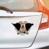 We Like Riding In Cars - Lakeland Terrier Car/ Door/ Fridge/ Laptop Sticker V1