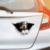 We Like Riding In Cars - Old English Sheepdog Car/ Door/ Fridge/ Laptop Sticker V1